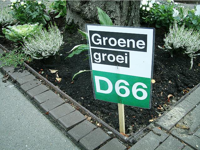 Guerrilla Gardening D66 boomspiegel