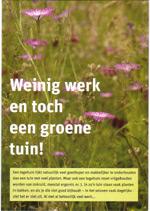 Eigen tuin / boek Weinig Werk