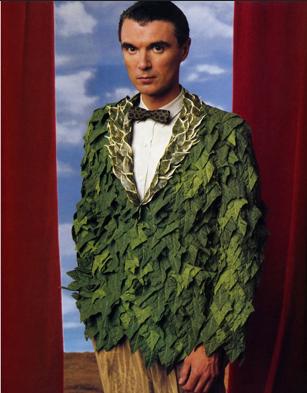 Abonneren David Byrne. foto: Annie Leibovitz