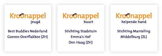 Kroonappel-winnaars