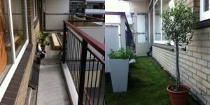 Introductie groen balkon